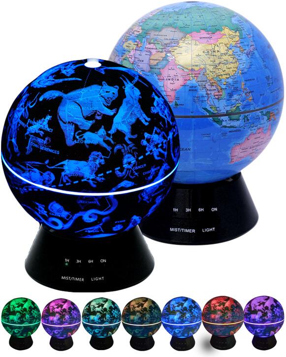 аромадиффузор зодиак глобус